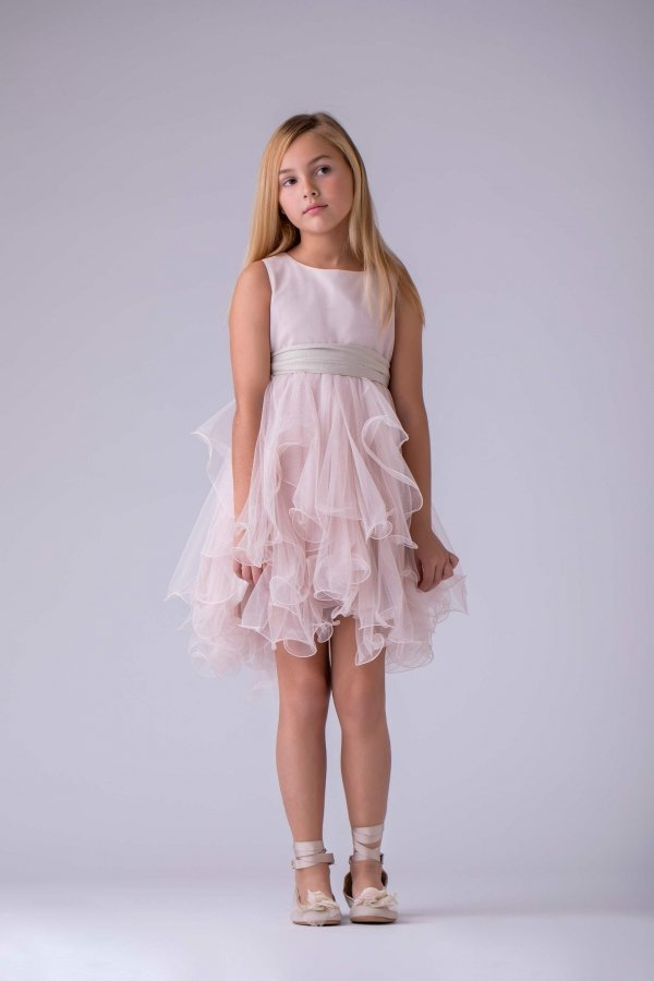 Vestido Agatha Rosa