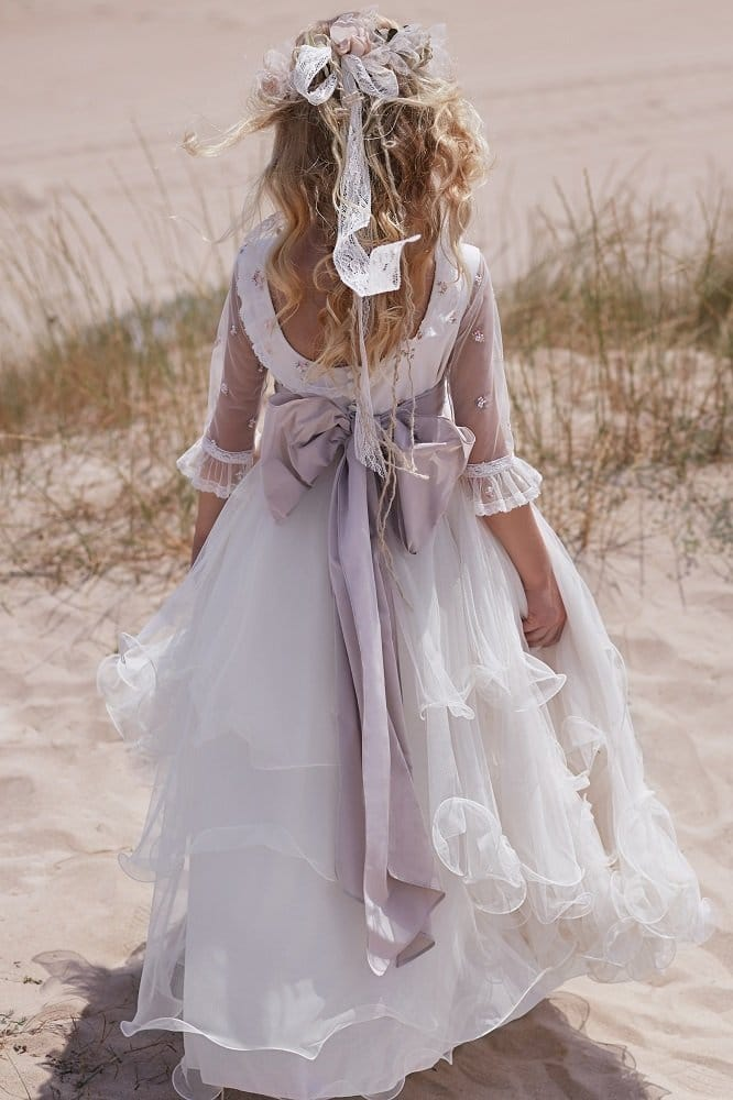 Vestido de comunion Hortensia Maeso