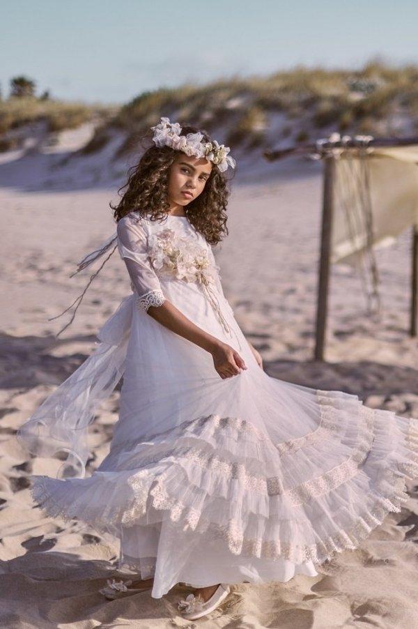 Vestido Antoñina · Tienda online vestidos de comunión Hortensia Maeso