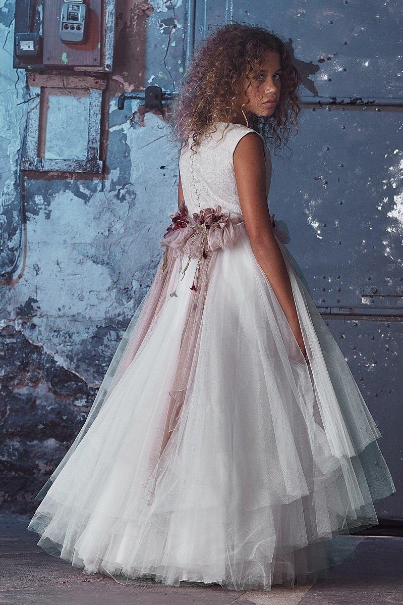 vestido de comunion de niña