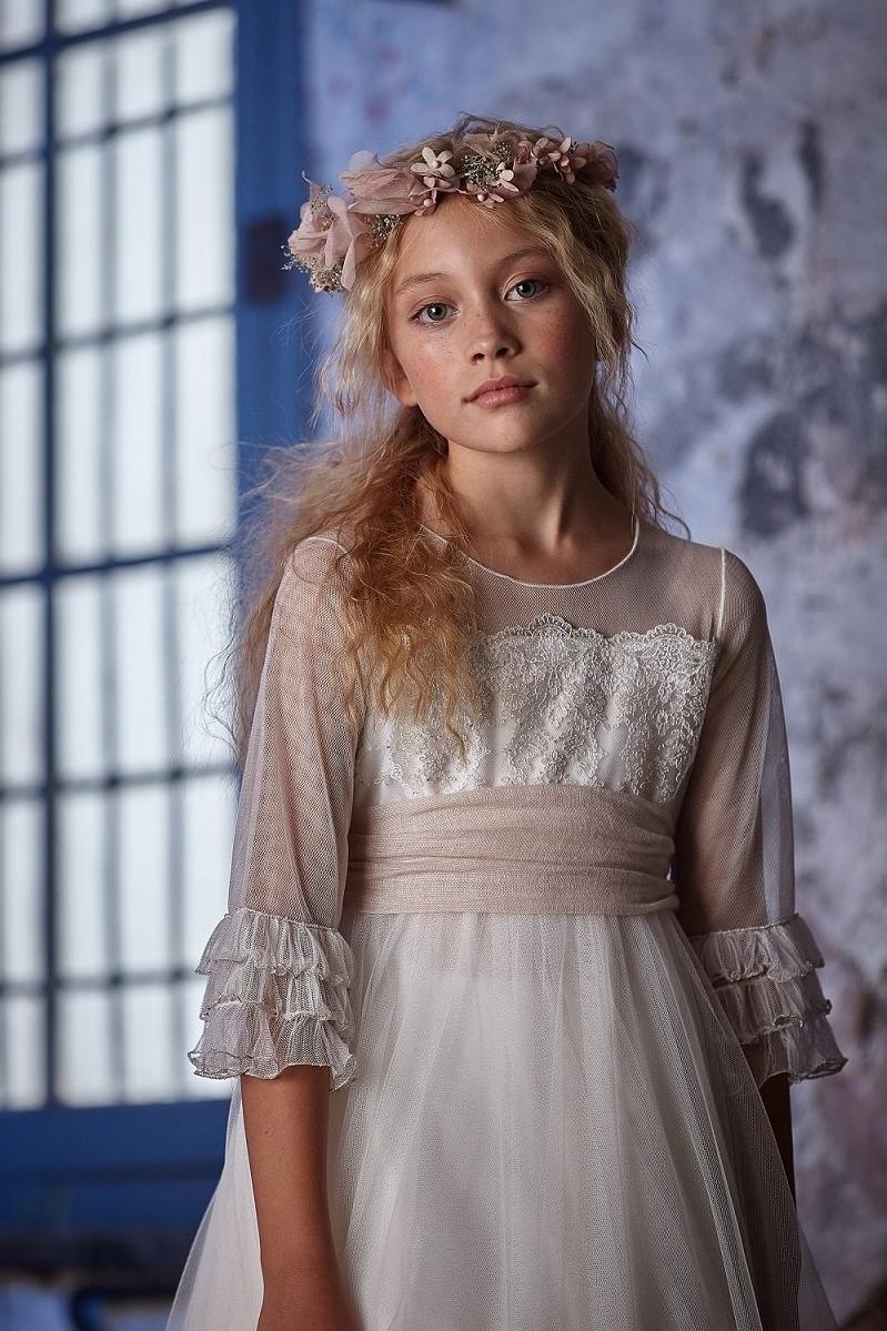 Vestido de comunion Melania