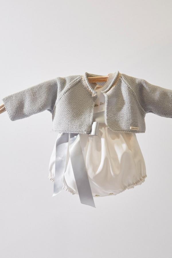 chaqueta bebe celeste