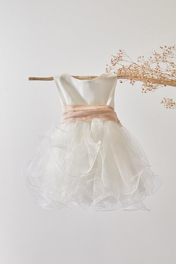 Vestido Blanco de bebé