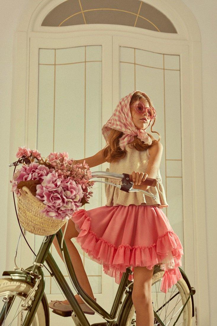 Conjunto falda niña